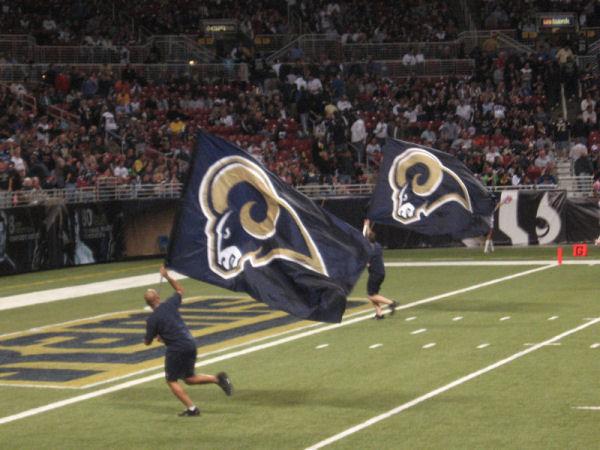 Touchdown St. Louis Rams !!!
